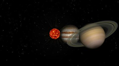 太陽系 Animation