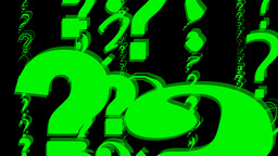 QUESTION   MARKS 9 stock footage
