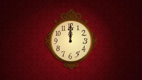 Mechanism clock Stock Video Footage