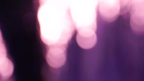 Bokeh Cool Coloration Stock Video Footage