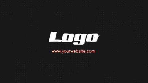 Glitch Abstract Logo