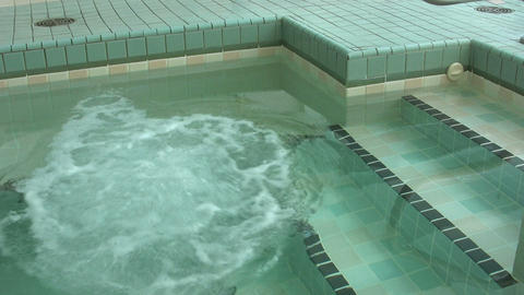 Hot Tub Starting Stock Video Footage