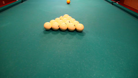 Billiard Stock Video Footage