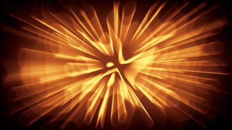 Abstract background with gold waves Stock Video Footage