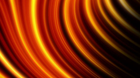 Animation of an abstract glowing background, gold tint Animation