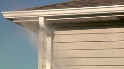 Power Wash Home Stock Video Footage
