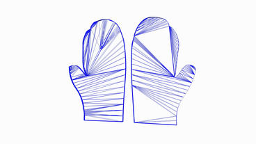Rotation of 3D Gloves.glove,boxing,sport,hand,competition,fist,fight,jab,hit,box Animation