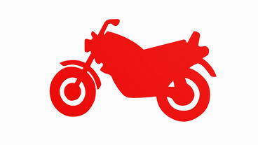Rotation of 3D Motorcycle.motorbike,ride,bike,motor,cycle,transport,wheel,vehicl Animation