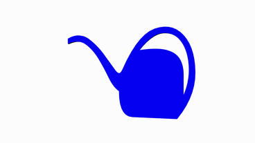 Rotation Of 3D Teapot.tea,vector,cup,mug,china,pot,coffee,breakfast,teabag,silhouette, stock footage