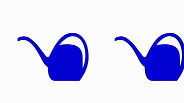 Moving of 3D teapot.tea,vector,cup,mug,china,pot,coffee,breakfast,teabag,silhoue Animation