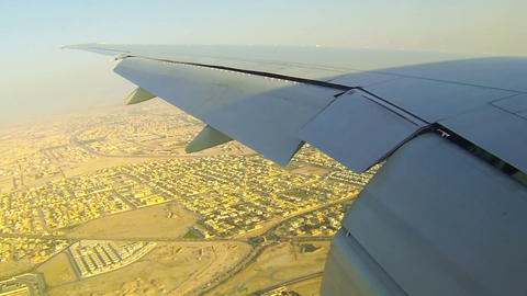 Aerial of South Africa, Doha Footage