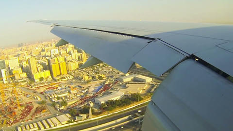 Aerial of South Africa, Doha Stock Video Footage