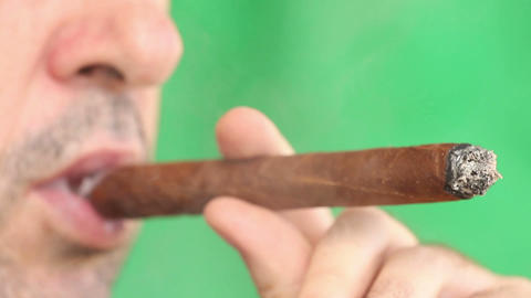 Cigar Stock Video Footage