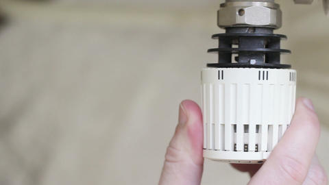 Thermostat Stock Video Footage