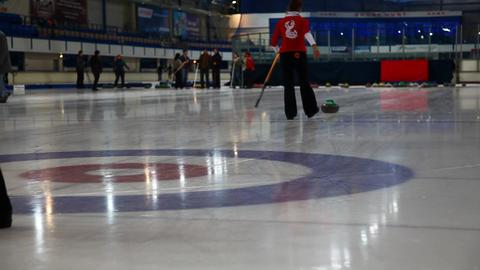 Curling Footage