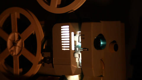 Old projector Footage