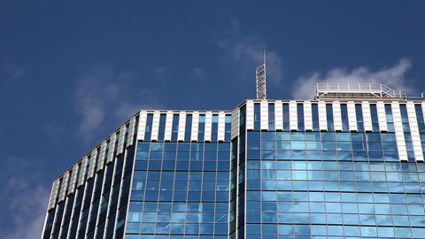 Skyscraper and sky Footage