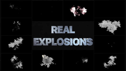 Real Explosions
