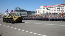 Military Parade stock footage