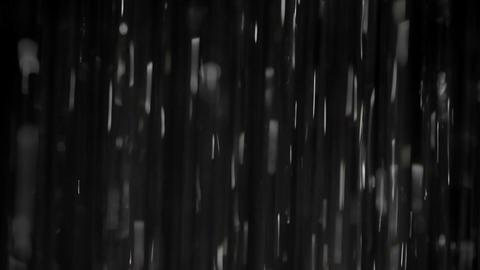 Rain on black. Clip 2 Stock Video Footage