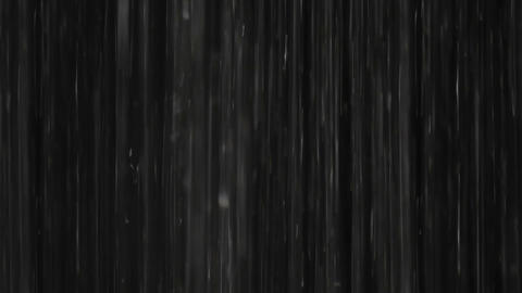 Rain on black. Clip 6 Stock Video Footage