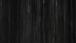 Rain on black. Clip 6 Footage