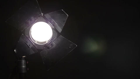 Floodlight turns on with dimmer and then turns off Live Action