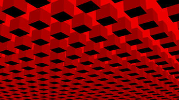Rotation of 3D Matrix... Stock Video Footage