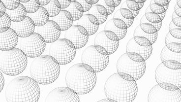 Rotation of 3D sphere... Stock Video Footage