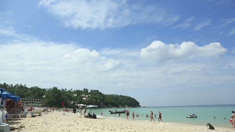 Phuket beach Stock Video Footage