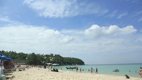 Phuket beach Footage