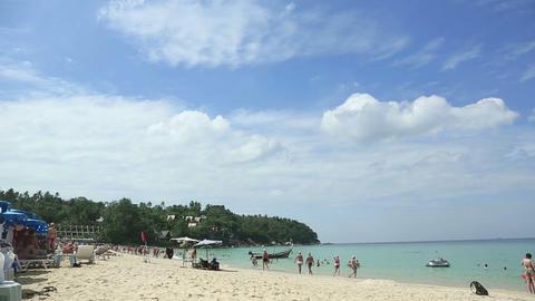 Phuket beach Stock Video Footage