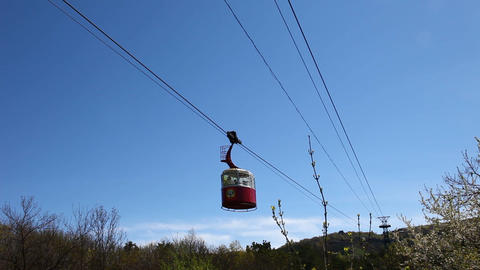 Funicular Stock Video Footage