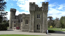 Johnstown   Castle  2 stock footage