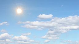 Clouds, sky,sun Stock Video Footage