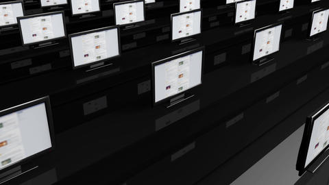 4 K Social Media Spy Room 4 Stock Video Footage