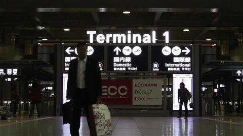 Kansai Airport Osaka Japan 5 Stock Video Footage
