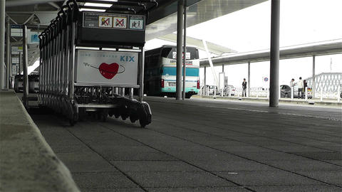 Kansai Airport Osaka Japan 9 Stock Video Footage