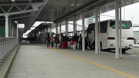 Kansai Airport Osaka Japan 10 Stock Video Footage