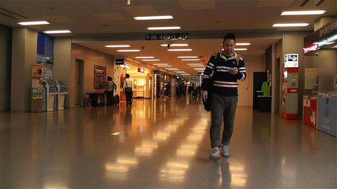 Kansai Airport Osaka Japan 12 Stock Video Footage