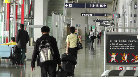 Kansai Airport Osaka Japan 17 Footage