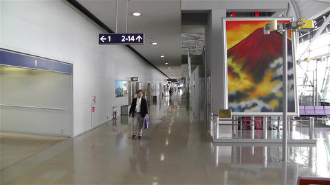 Kansai Airport Osaka Japan 19 Stock Video Footage