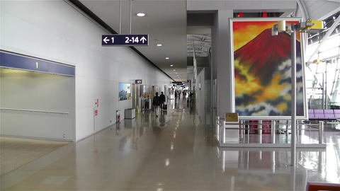 Kansai Airport Osaka Japan 19 Stock Video Footage