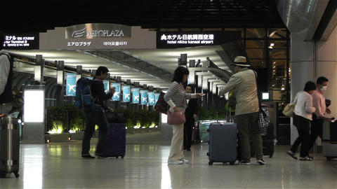 Kansai Airport Railway Station Osaka Japan 3 Footage