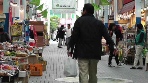 Market in Okinawa Islands Ishigakijima 6 Stock Video Footage