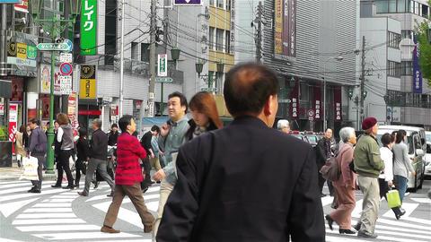 Namba District Osaka Japan 6 Stock Video Footage