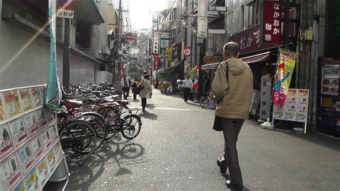 Namba District Osaka Japan 12 Stock Video Footage
