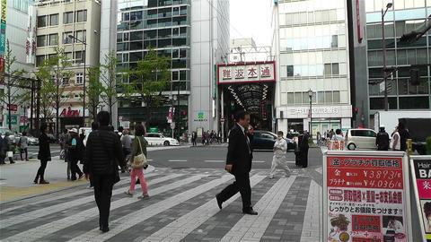 Namba District Osaka Japan 14 Stock Video Footage