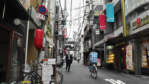 Namba District Osaka Japan 16 Stock Video Footage