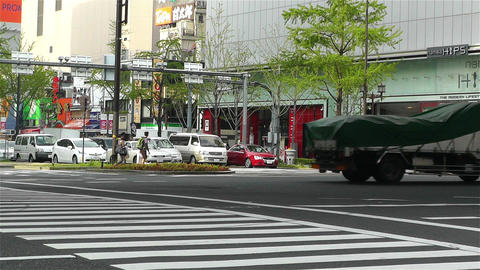 Namba District Osaka Japan 28 Stock Video Footage